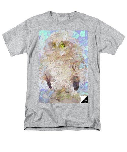 Men's T-Shirt  (Regular Fit) featuring the digital art OWL by Jim  Hatch