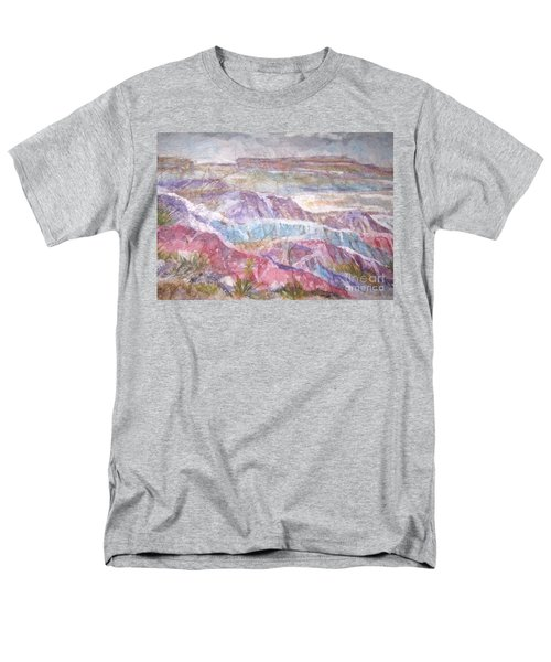 Painted Desert Men's T-Shirt  (Regular Fit) by Ellen Levinson
