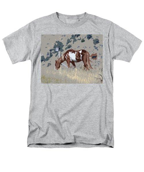Men's T-Shirt  (Regular Fit) featuring the photograph Painted Horse by Steve McKinzie