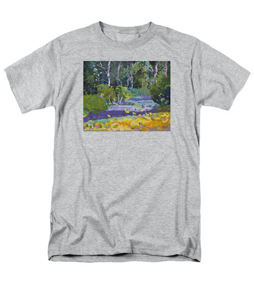 Painting Pixie Forest Men's T-Shirt  (Regular Fit) by Chris Hobel