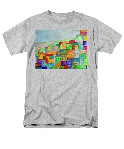Men's T-Shirt  (Regular Fit) featuring the painting Palmyra by Kim Nelson