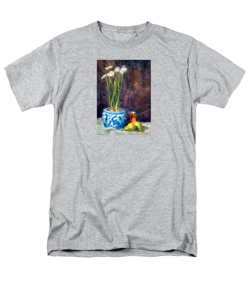 Paper Whites And Pears Men's T-Shirt  (Regular Fit)