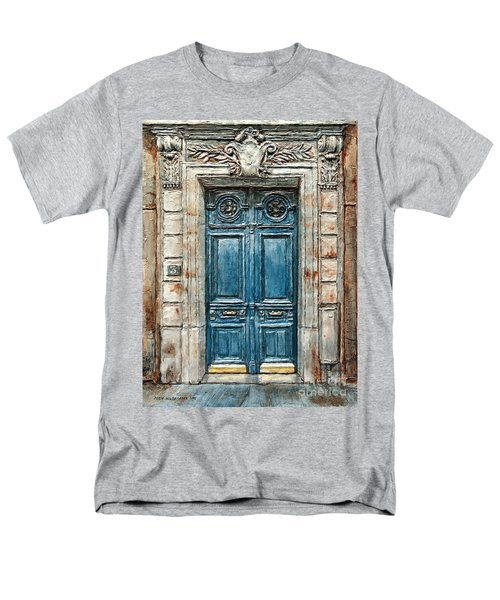 Parisian Door No. 3 Men's T-Shirt  (Regular Fit)