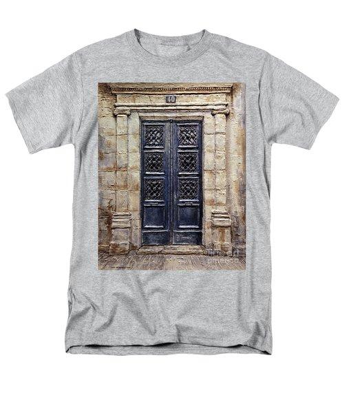 Parisian Door No.40 Men's T-Shirt  (Regular Fit)