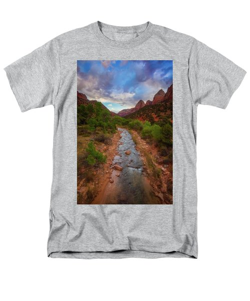 Men's T-Shirt  (Regular Fit) featuring the photograph Path To Zion by Darren White
