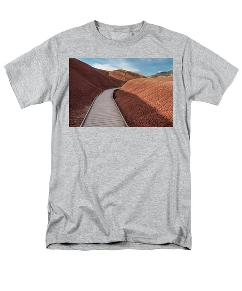 Men's T-Shirt  (Regular Fit) featuring the photograph Pathway Through The Reds by Greg Nyquist