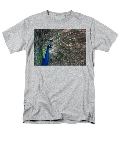 Men's T-Shirt  (Regular Fit) featuring the photograph Peacock II by Lisa L Silva