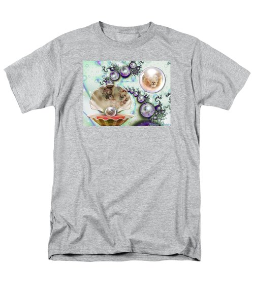 Men's T-Shirt  (Regular Fit) featuring the digital art Pearl Of Great Price by Dolores Develde