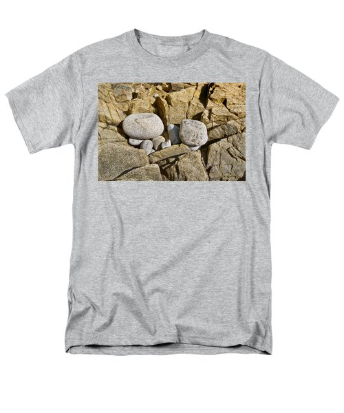 Men's T-Shirt  (Regular Fit) featuring the photograph Pebble Pocket Photo by Peter J Sucy