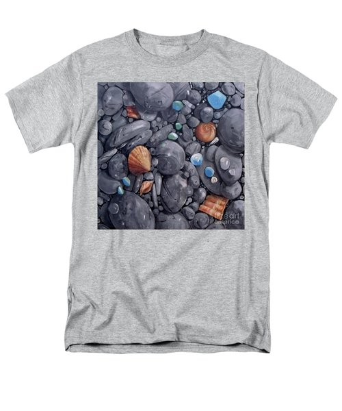 Pebble Soft Moments 1 Men's T-Shirt  (Regular Fit) by Mary Hubley