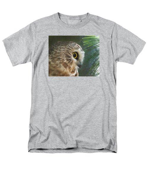Peeking Out Men's T-Shirt  (Regular Fit) by CR  Courson