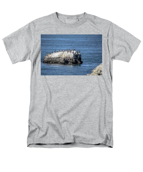 Men's T-Shirt  (Regular Fit) featuring the photograph Pelican Rock by Randy Bayne