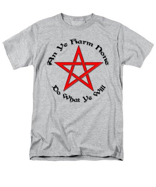 Pentagram Men's T-Shirt  (Regular Fit) by Bob Slitzan