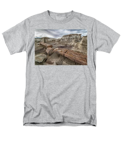 Men's T-Shirt  (Regular Fit) featuring the photograph Petrified Remains by Alan Toepfer