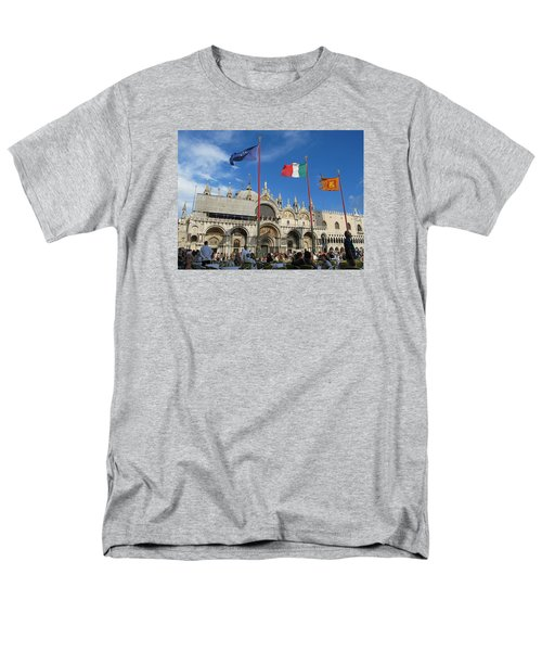 Piazza San Marco Venice Men's T-Shirt  (Regular Fit) by Lisa Boyd