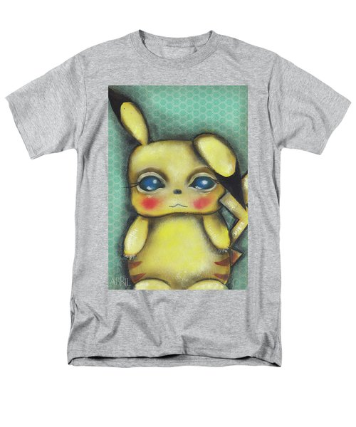 Pikachu  Men's T-Shirt  (Regular Fit) by Abril Andrade Griffith