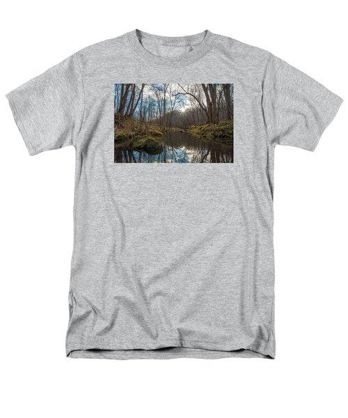 Men's T-Shirt  (Regular Fit) featuring the photograph Pine Creek by Dan Traun