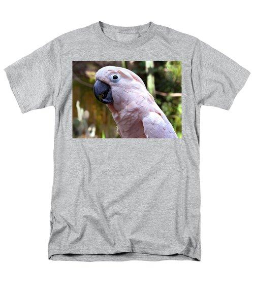 Pink Cockatoo Men's T-Shirt  (Regular Fit) by Haleh Mahbod