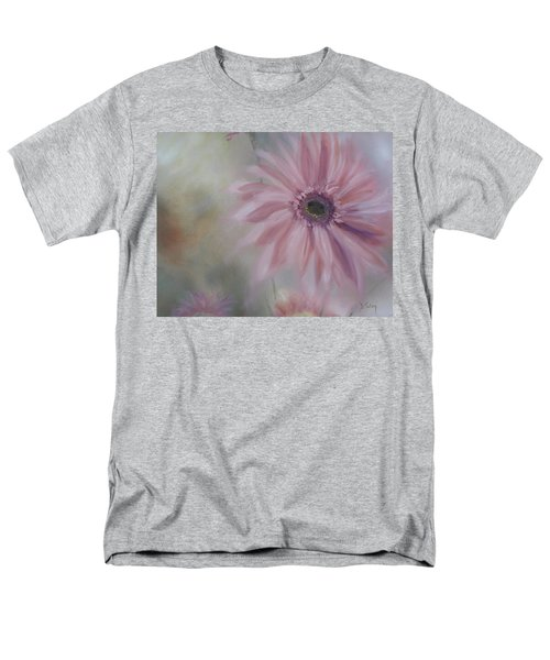 Men's T-Shirt  (Regular Fit) featuring the painting Pink Daisies by Donna Tuten
