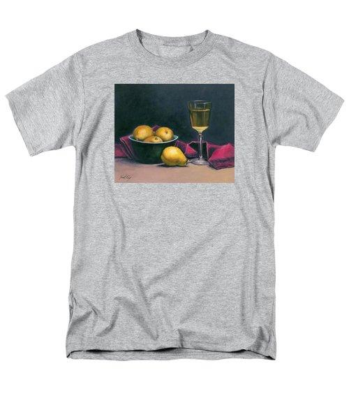 Pinot And Pears Still Life Men's T-Shirt  (Regular Fit)