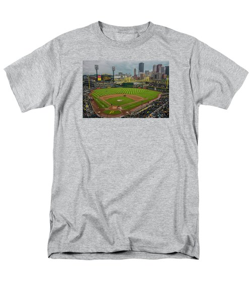 Pittsburgh Pirates Pnc Park 5569 Men's T-Shirt  (Regular Fit) by David Haskett