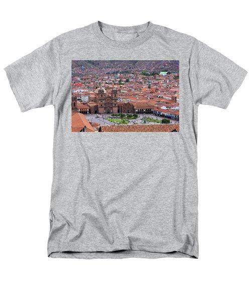 Plaza De Armas, Cusco, Peru Men's T-Shirt  (Regular Fit) by Aidan Moran