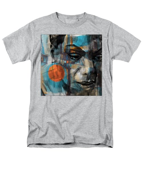 Men's T-Shirt  (Regular Fit) featuring the mixed media Please Don't Let Me Be Misunderstood by Paul Lovering