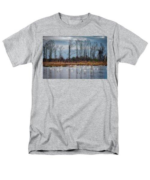 Pocosin Lakes Nwr Men's T-Shirt  (Regular Fit)