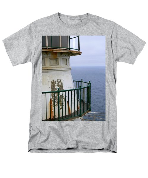 Point Reyes And The Pacific Ocean Men's T-Shirt  (Regular Fit) by Laurel Powell