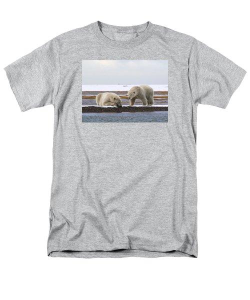 Polar Bear Zzzzzzz's Men's T-Shirt  (Regular Fit)
