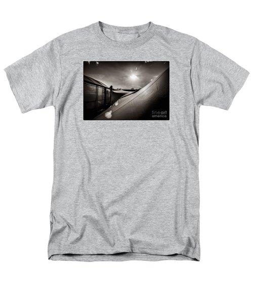 Pop Brixton Has A New Roof Men's T-Shirt  (Regular Fit) by Lenny Carter