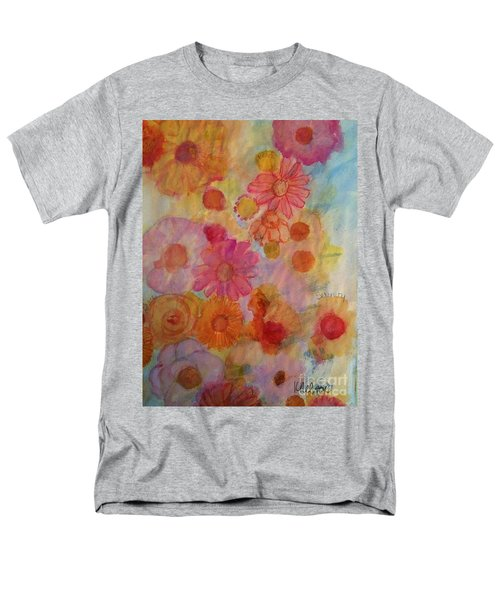 Men's T-Shirt  (Regular Fit) featuring the painting Popping by Kim Nelson