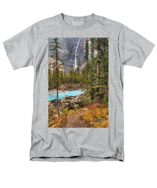 Men's T-Shirt  (Regular Fit) featuring the photograph Portrait Of Takakkaw Falls by Adam Jewell