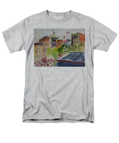 Portsmouth Square1 Men's T-Shirt  (Regular Fit) by Tom Simmons