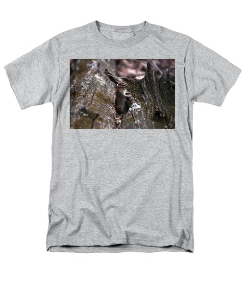 Men's T-Shirt  (Regular Fit) featuring the photograph Posing #1 by Jeff Severson