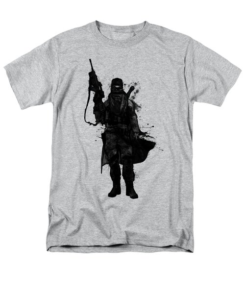 Men's T-Shirt  (Regular Fit) featuring the digital art Post Apocalyptic Warrior by Nicklas Gustafsson