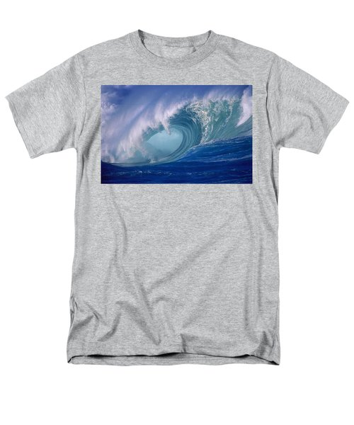 Powerful Surf Men's T-Shirt  (Regular Fit) by Ron Dahlquist - Printscapes