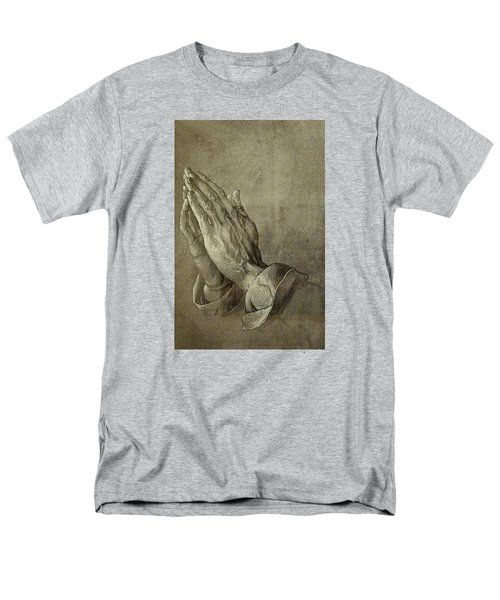 Praying Hands Men's T-Shirt  (Regular Fit) by Troy Caperton