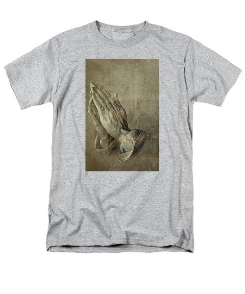 Praying Hands Men's T-Shirt  (Regular Fit)