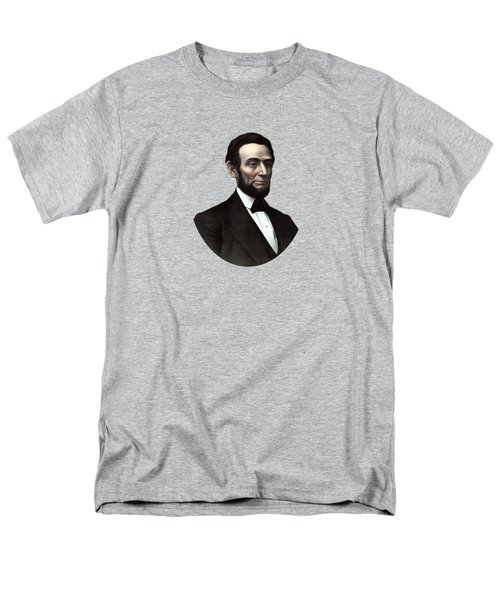 President Abraham Lincoln  Men's T-Shirt  (Regular Fit) by War Is Hell Store