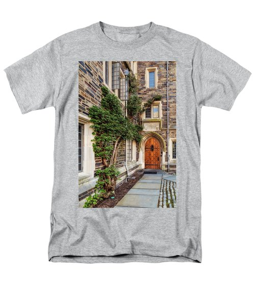Men's T-Shirt  (Regular Fit) featuring the photograph Princeton University Foulke Hall II by Susan Candelario
