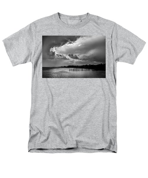 Men's T-Shirt  (Regular Fit) featuring the photograph Provincetown Storm by Charles Harden