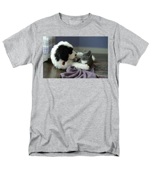 Men's T-Shirt  (Regular Fit) featuring the photograph Puppy Love by Linda Mishler