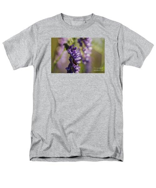 Purple Wildflowers Men's T-Shirt  (Regular Fit)