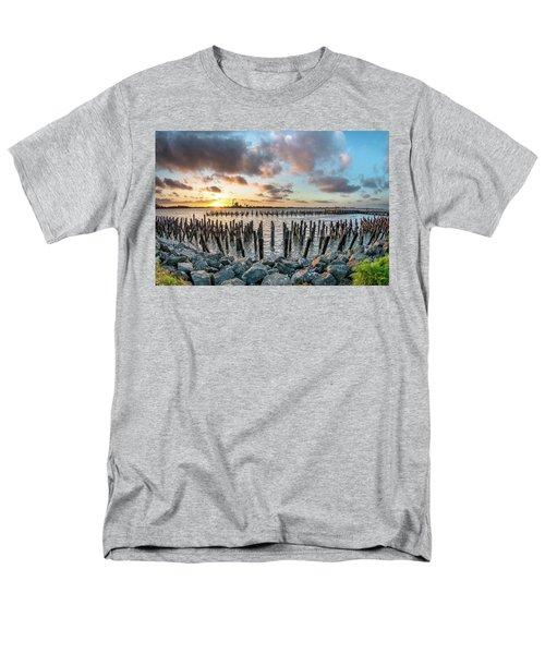 Pylons Mill Sunset Men's T-Shirt  (Regular Fit) by Greg Nyquist