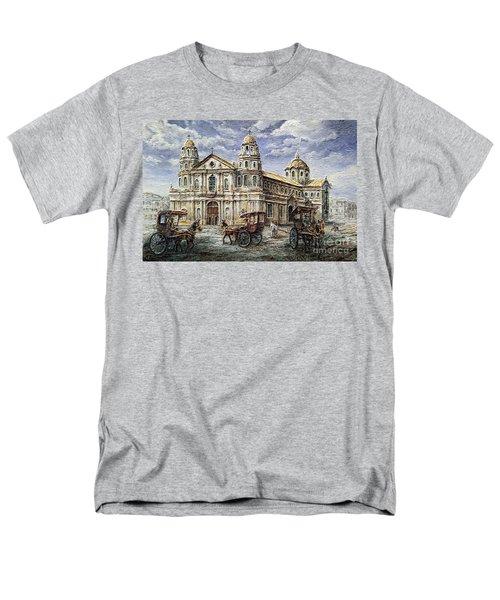 Quiapo Church 1900s Men's T-Shirt  (Regular Fit)