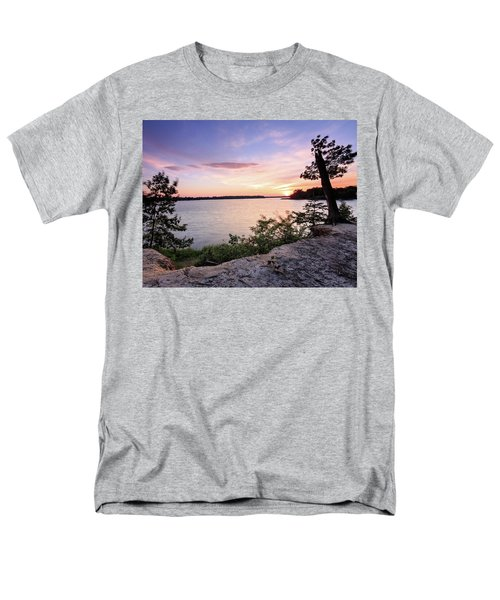 Quiet Waters Crop Men's T-Shirt  (Regular Fit)