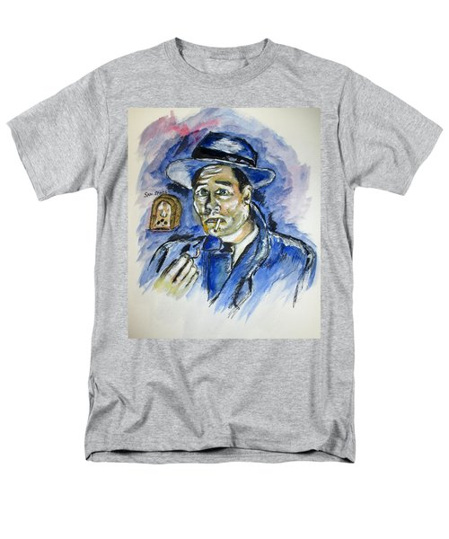 Radio's Sam Spade Men's T-Shirt  (Regular Fit) by Clyde J Kell