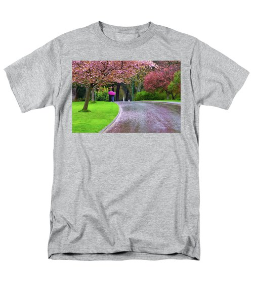 Rainy Day In The Park Men's T-Shirt  (Regular Fit) by Keith Boone
