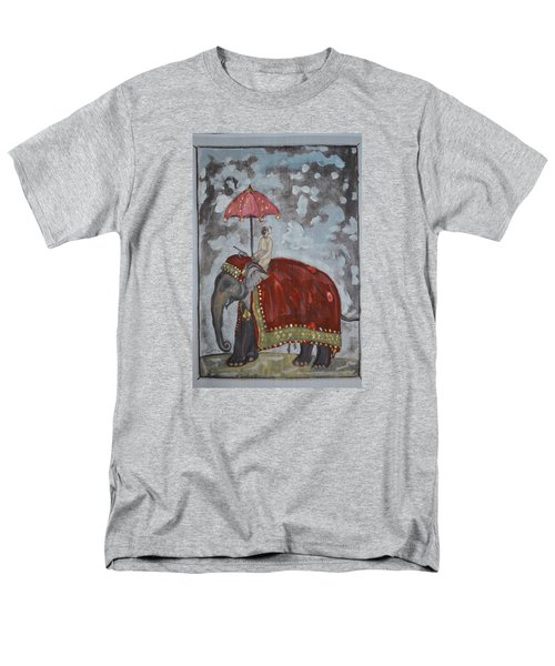 Rajasthani Elephant Men's T-Shirt  (Regular Fit) by Vikram Singh